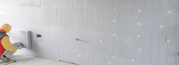 Wall Insulation - maintain comfortable temps inside